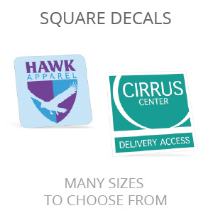 Square Decals
