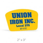 "Hard Hat Decals - 2"" x 3"""