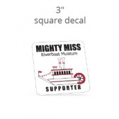 "3"" Custom Square Decal"