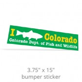 "3.75"" x 15"" One Day Bumper Stickers"