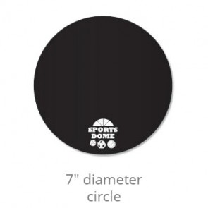 Circle Chalkboard Decal - 7""