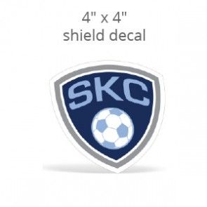 "4"" x 4"" Custom Print Shield Decal"