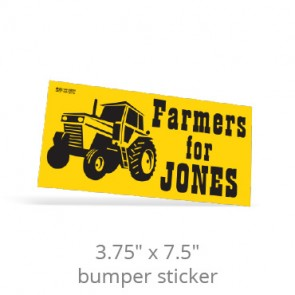 "3.75"" x 7.5"" One Day Bumper Stickers"
