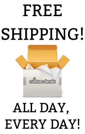 Free Shipping, All Day Every Day at Custom-Decals.com