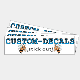 CustomDecalscom Made To Stick Out Decals And Stickers - Custom made bumper stickers